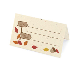 Rustic Tree Place Cards