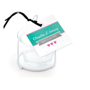 Love Story Favor Tags
