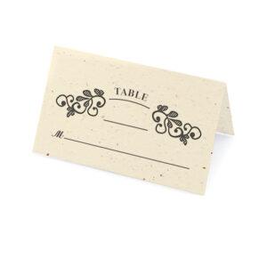 Vintage Plantable Place Cards