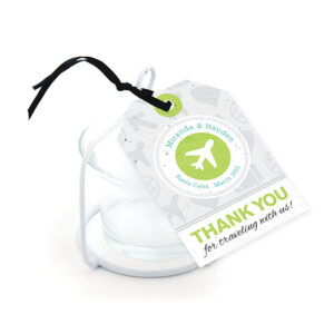 Boarding Pass Plantable Favor Tags