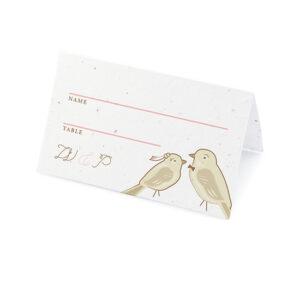 Park Birds Plantable Place Cards