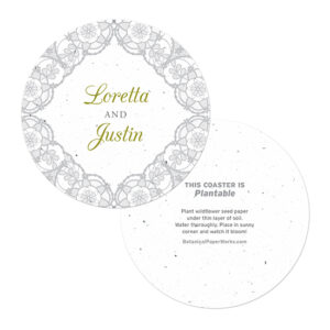 Romantic Lace Coasters