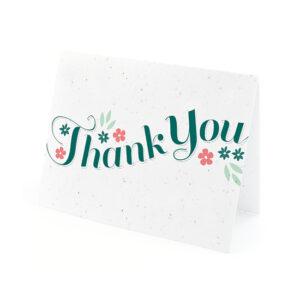 Secret Garden Plantable Thank You Cards
