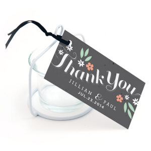 Secret Garden Plantable Favor Tags