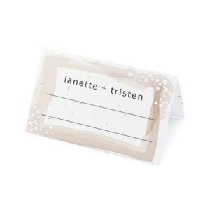 Feather Plantable Place Cards