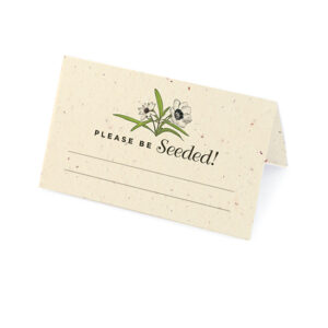 Love Grows Seed Place Cards