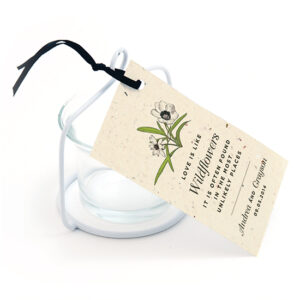 Love Grows Seed Favor Tags