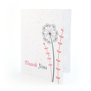 Dandelion Thank You Cards