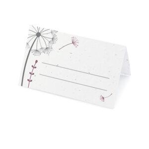 Dandelion Place Cards