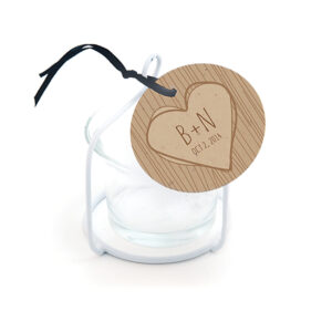 Rustic Tree Favor Tags