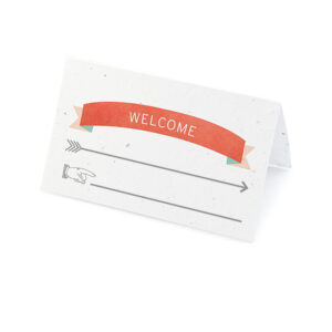 Love Story Place Cards