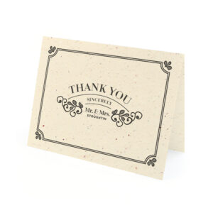 Vintage Plantable Thank You Cards