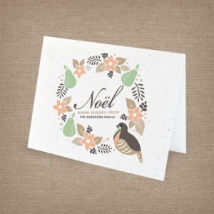 Partridge Wreath Cards