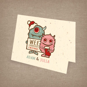 Wee Christmas Monster Cards