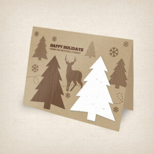 Rustic Woodland Cards