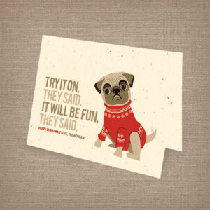 Holiday Pug Cards