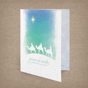 Peace on Earth Wisemen Cards