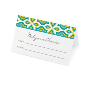Indian Motif Plantable Place Cards