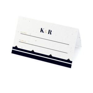Art Deco Plantable Place Cards