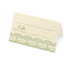 Rustic Lace Plantable Place Cards
