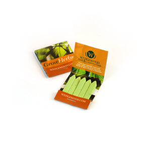 Small Herb Seed Paper Matchbooks, Double-Sided