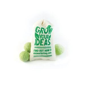 Herb Seed Bombs Muslin Bag 3