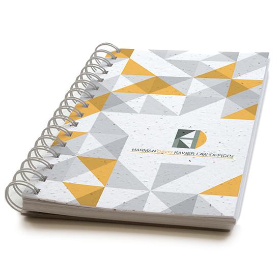 Geometric Personalized Plantable Journals: Premium