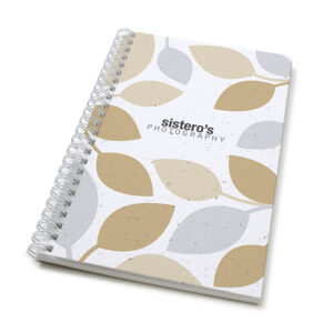 Modern Leaves Personalized Plantable Journals: Standard