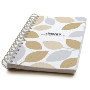Modern Leaves Personalized Plantable Journals: Premium