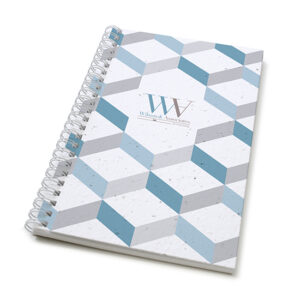 3D Chevron Personalized Plantable Journals: Standard