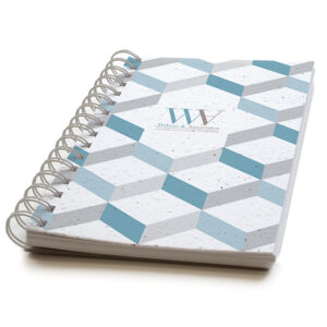 3D Chevron Personalized Plantable Journals: Premium