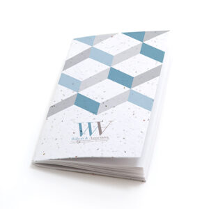 3D Chevron Personalized Plantable Pocket Notebooks