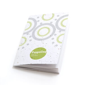 Circles Personalized Plantable Pocket Notebooks