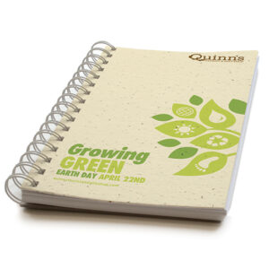 Growing Green Personalized Plantable Journals: Premium