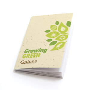Growing Green Personalized Plantable Pocket Notebooks
