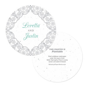 Romantic Lace Coasters