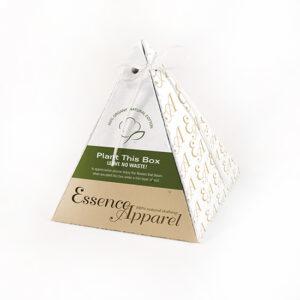 Single-Sided Plantable Pyramid Boxes