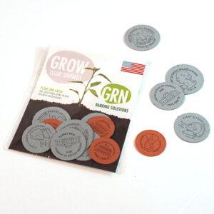 American Seed Paper Coins Packs