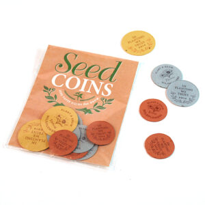 In Planting We Trust Seed Paper Coins Packs