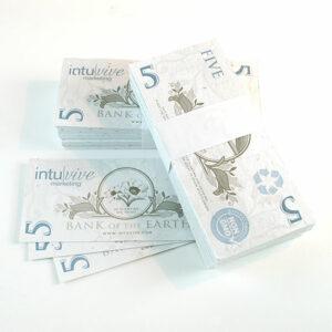 $5 Seed Paper Bills