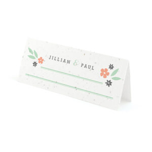 Secret Garden Plantable Place Cards