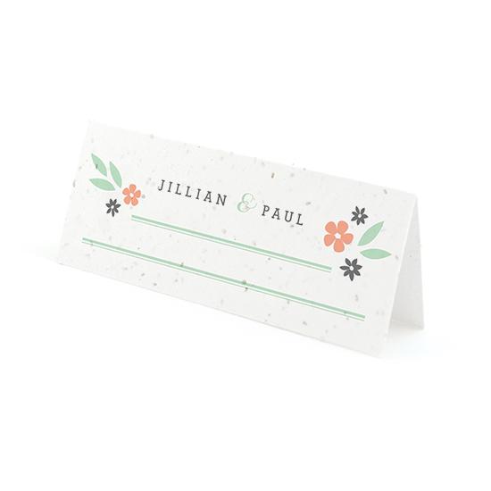 Secret Garden Plantable Place Cards