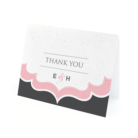Sweet Vintage Plantable Thank You Cards