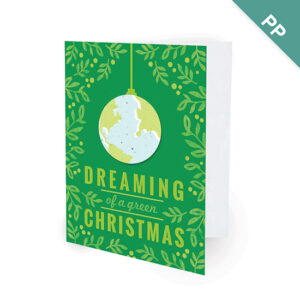 A Green Christmas Corporate Holiday Cards