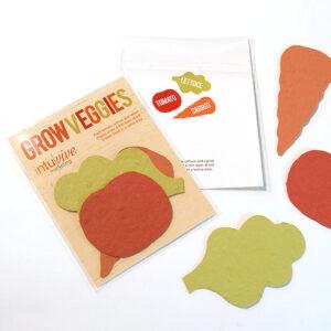 Double-Sided Veggie Shape Packs