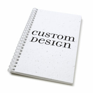 Custom design personalized plantable journal: standard