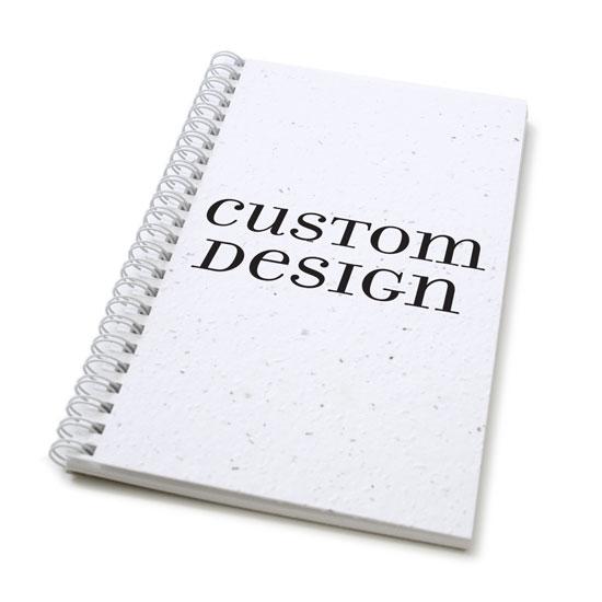 Custom design personalized plantable journal: standard