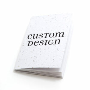 Custom design personalized plantable pocket notebooks