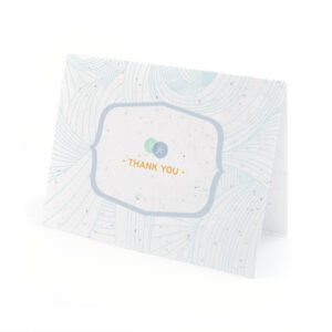 sand dollar plantable thank you cards