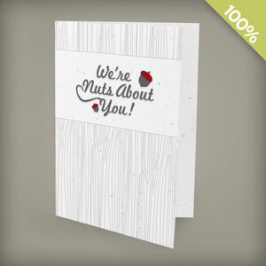 Large seed paper greeting cards